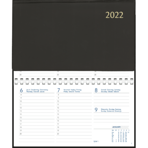 Novoplan comb bound black 2022
