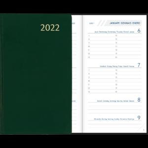 Diary Visuplan 2022 Green