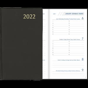 Diary Visuplan 2022 Black