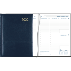 Diary Business 2022 blue