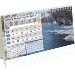 Desk calendar Daydreams 2022 January