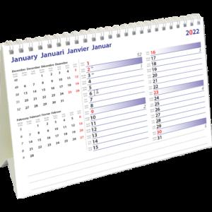 Desk calendar International Memo 2022