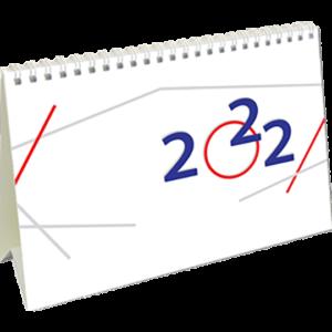 Desk calendar International 2022 Cover
