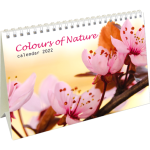 Desk calendar Colours of Nature 2022