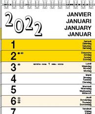 Slim Line Calendars