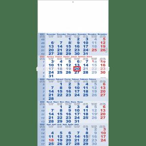 Calendar 5 months Classic 2022